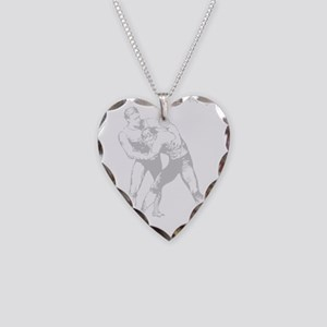 Old-School2 Necklace Heart Charm
