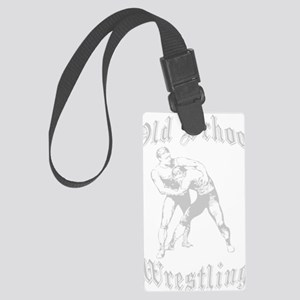 Old-School2 Large Luggage Tag