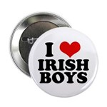 I Love Irish Boys Red Heart 2.25