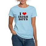 I Love Irish Boys Red Heart Women's Light T-Shirt