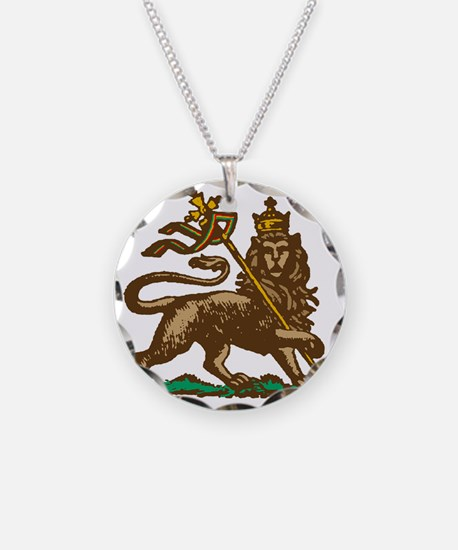 Selassie and Lion pics 001 Necklace