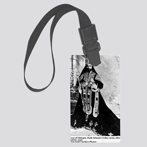 Selassie and Lion pics 007 Large Luggage Tag