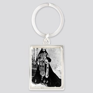 Selassie and Lion pics 007 Portrait Keychain