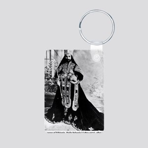 Selassie and Lion pics 007 Aluminum Photo Keychain
