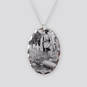 Selassie and Lion pics 005 Necklace Oval Charm