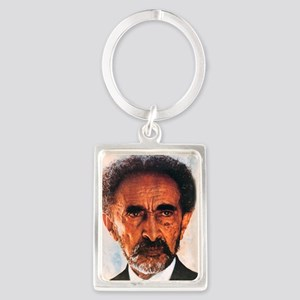 Selassie and Lion pics 009 Portrait Keychain