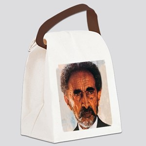 Selassie and Lion pics 009 Canvas Lunch Bag