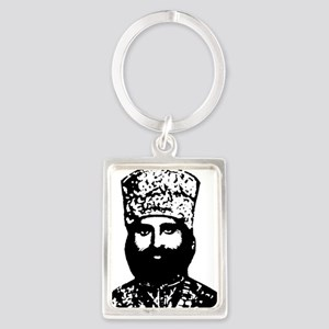 Selassie and Lion pics 016 Portrait Keychain