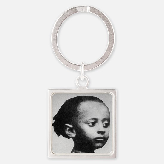 Selassie and Lion pics 021 Square Keychain