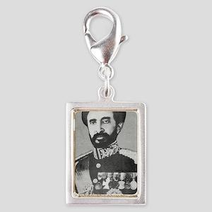 Selassie and Lion pics 020 Silver Portrait Charm