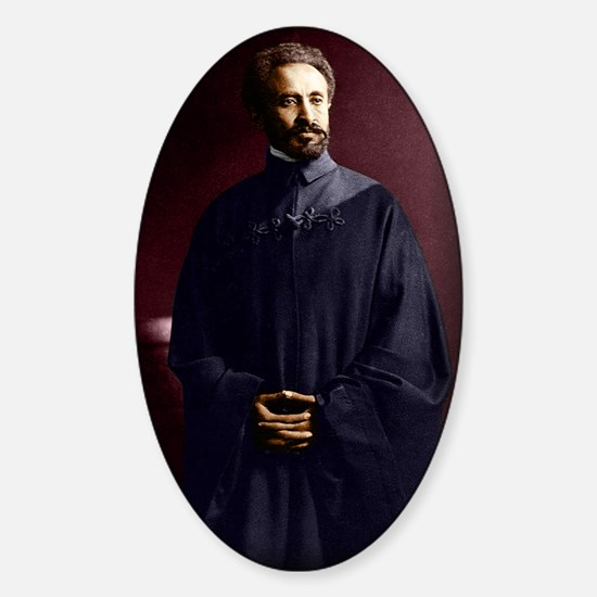 Selassie and Lion pics 022 Sticker (Oval)