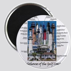 Gulf Coast 10 x 10 Magnet