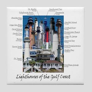 Gulf Coast 10 x 10 Tile Coaster