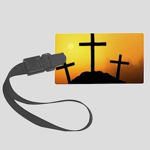 Christian-faith Large Luggage Tag