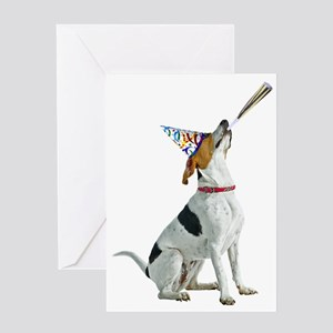 American Foxhound Party Greeting Card