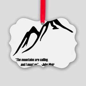 Mountainscalling Picture Ornament