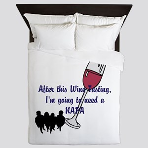 Napa Valley wine tasting Queen Duvet