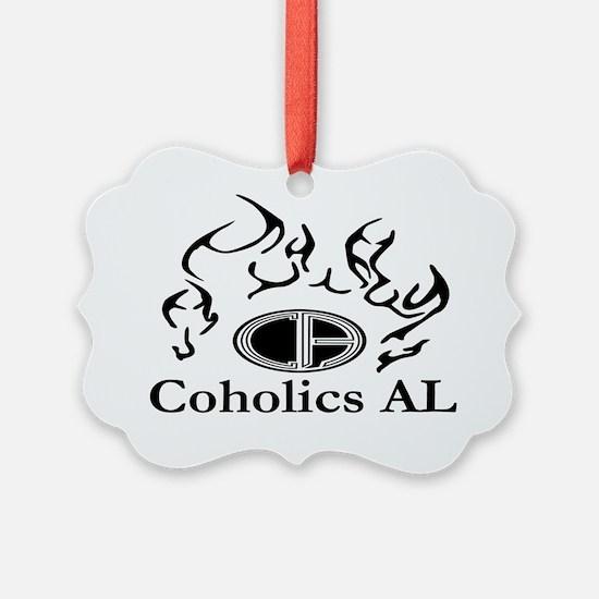 CA Logo White Ornament