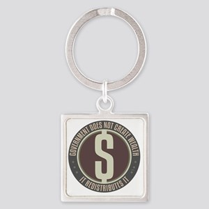 sept_no_big_government_6 Square Keychain