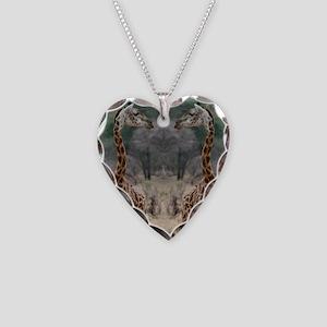 thonggiraffe Necklace Heart Charm