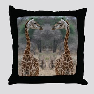 thonggiraffe Throw Pillow