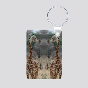 thonggiraffe Aluminum Photo Keychain
