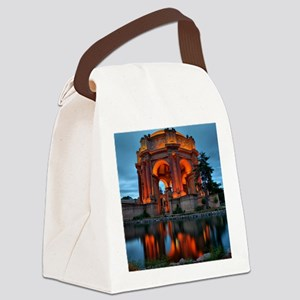 Palace of Fine Arts Blank Canvas Lunch Bag