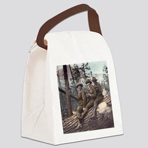 Girl Scout Camp Canvas Lunch Bag