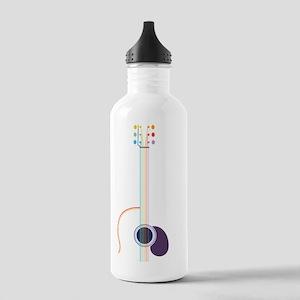 guitar-popline-VERT-T Stainless Water Bottle 1.0L