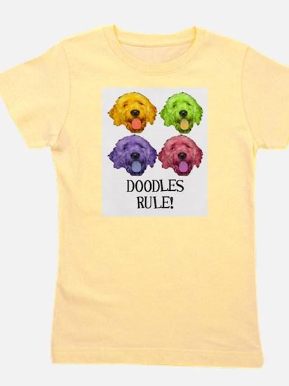 Doodles Rule.jpg Girl's Tee
