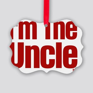 im the uncle Picture Ornament