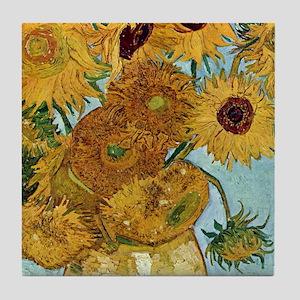 iphone 2b_Van Gogh Sunflowers Tile Coaster