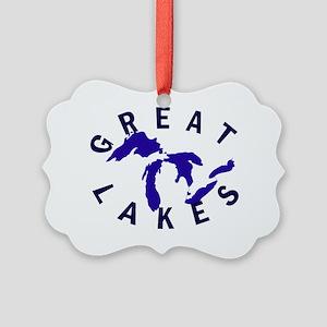 greatlakesshirt Picture Ornament