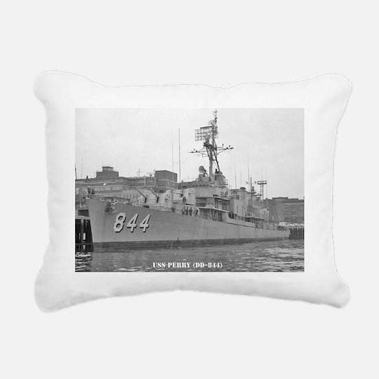 perry framed panel print Rectangular Canvas Pillow