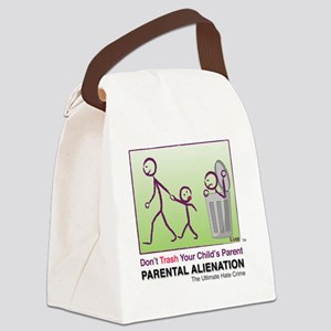 Parental Alienation T-shirt Canvas Lunch Bag