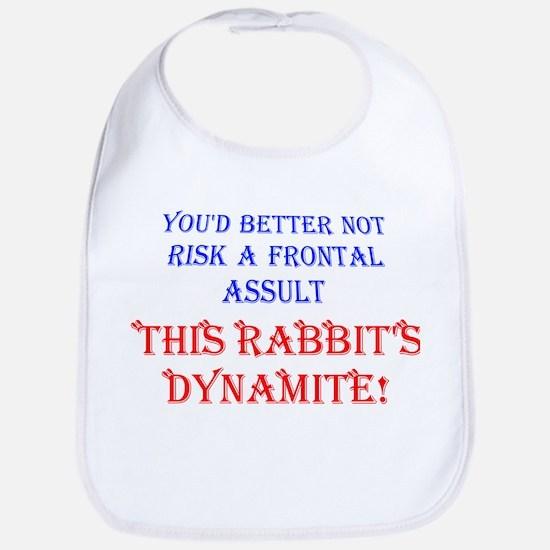 THIS RABBIT'S DYNAMITE Bib