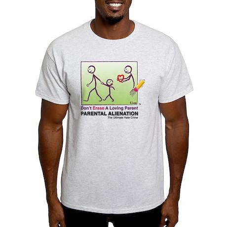 Parental Alienation T-shirt Light T-Shirt