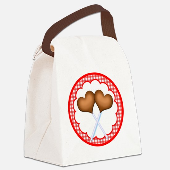 11-valentine-square-and-button Canvas Lunch Bag