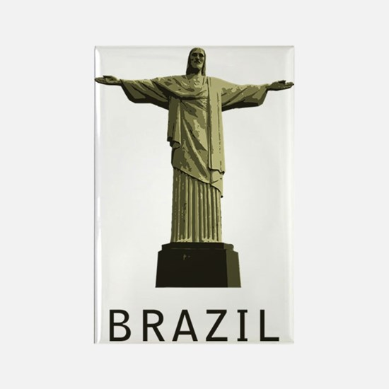 Brazil1 Rectangle Magnet