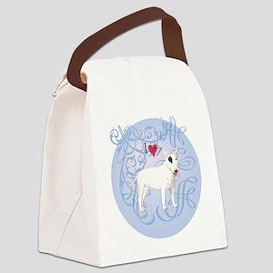 bull-charm2 Canvas Lunch Bag