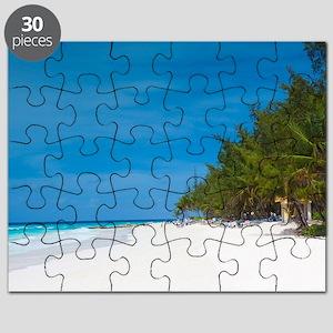 Tropical Beach Barbados Puzzle