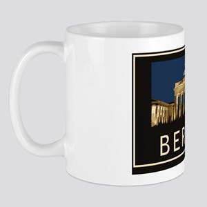 BerlinBrandenburg GatePostcard1 Mug