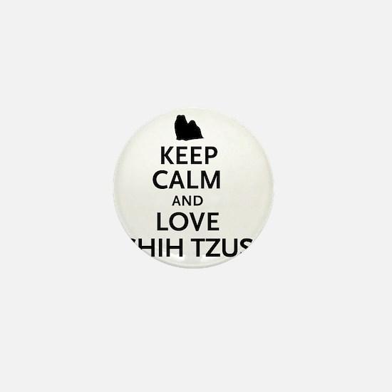 keepcalm Mini Button