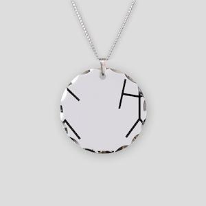 o7 Necklace Circle Charm