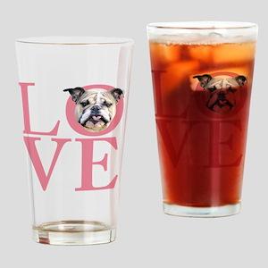 love3 Drinking Glass