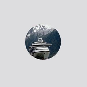 Cruise Alaska Mini Button