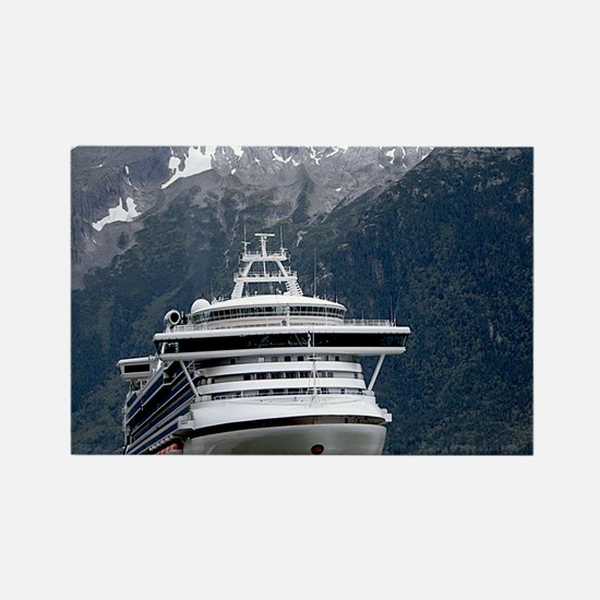 Cruise Alaska Rectangle Magnet