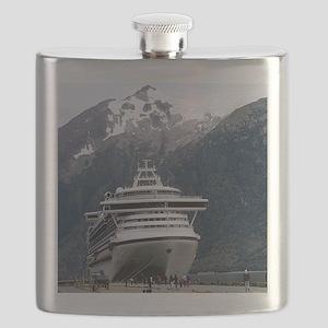 Cruise Alaska Flask
