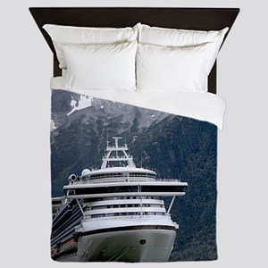 Cruise Alaska Queen Duvet