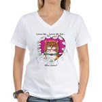 Loves Me Women's V-Neck T-Shirt